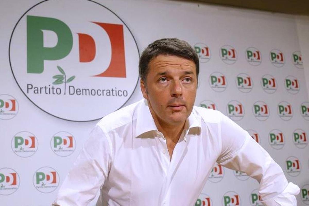 Le liste del Partito Democratico di Renzi alle prossime politiche