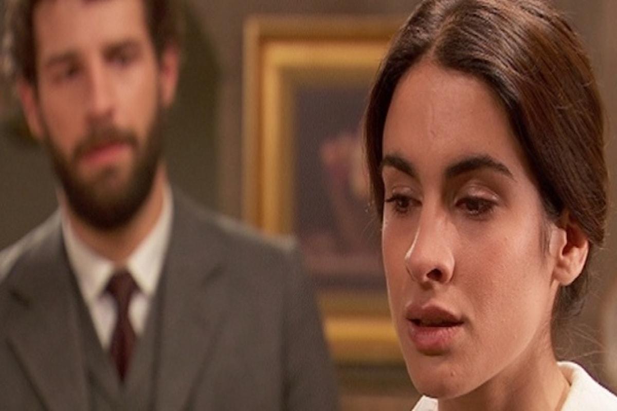 Il Segreto anticipazioni: puntata di lunedì 10 ottobre 2016, Bosco si sente in colpa per quello che ha fatto alla moglie