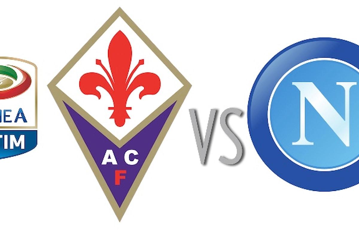 Fiorentina-Napoli: le formazioni e il mistero Higuain