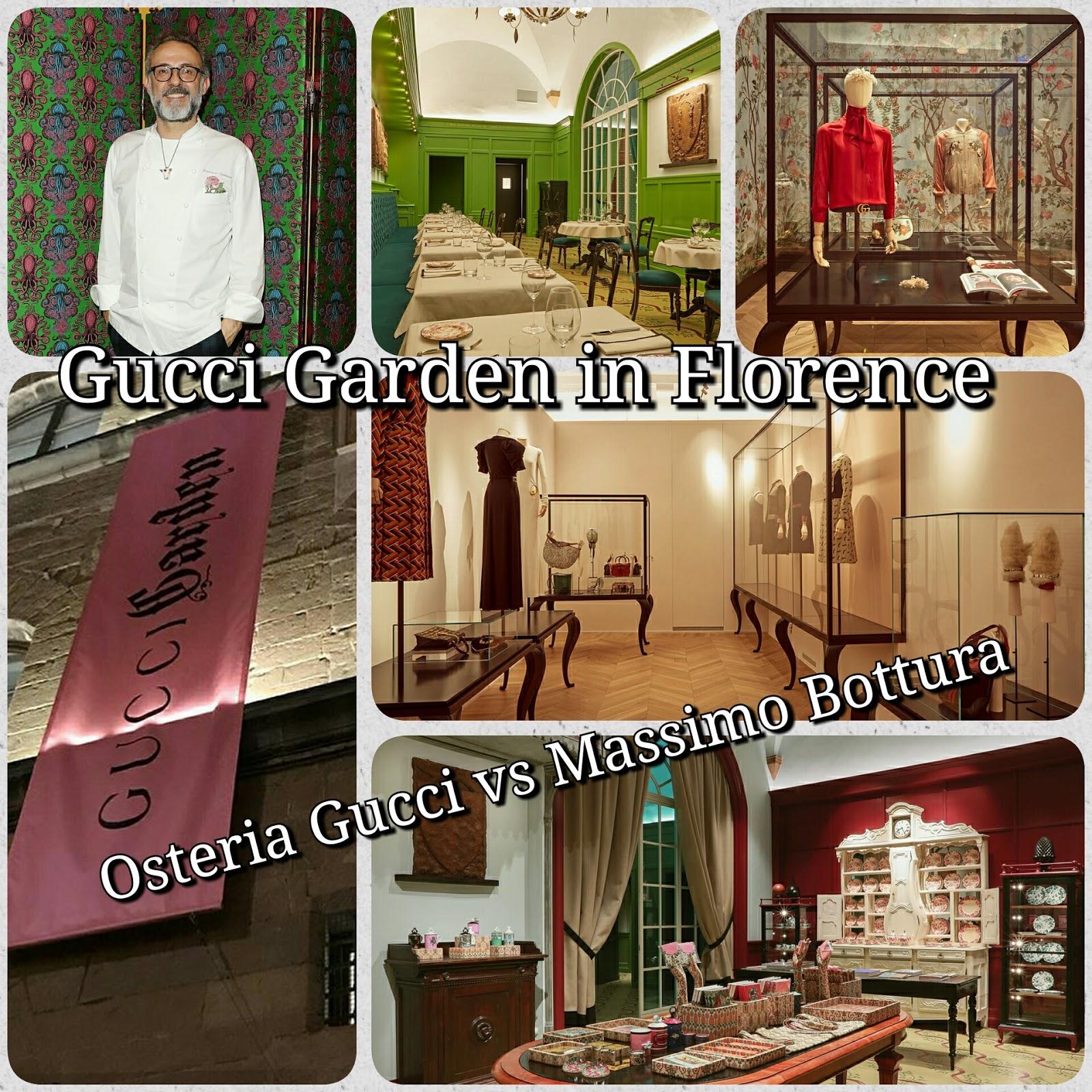 Gucci Garden: il Paese delle meraviglie esiste! Inaugura a Firenze anche l'Osteria Gucci nelle mani dello Chef stellato Massimo Bottura