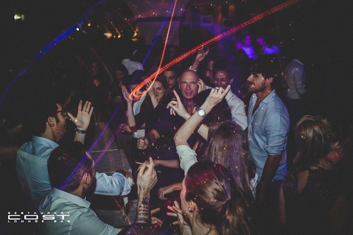 15/11 Socialize, 16/11 Casa Smaila's, 18/11 La Musica è servita al Cost Milano