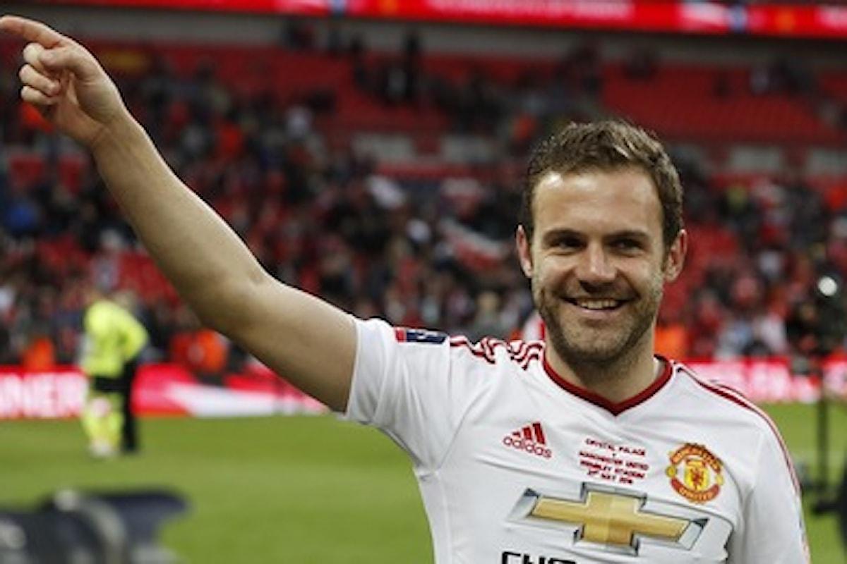 Dall'Inghilterra – Juan Mata in partenza dal Manchester United: ecco chi lo vuole in Premier League