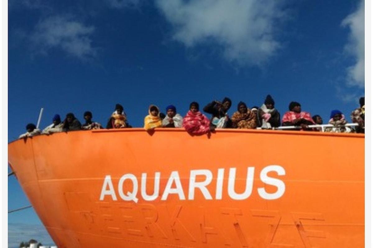 Aquarius: Salvini 1 Europa 0, basta businness