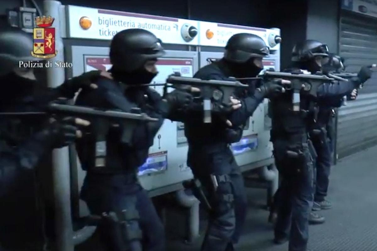 Esercitazione antiterrorismo di Polizia e Carabinieri in tre città