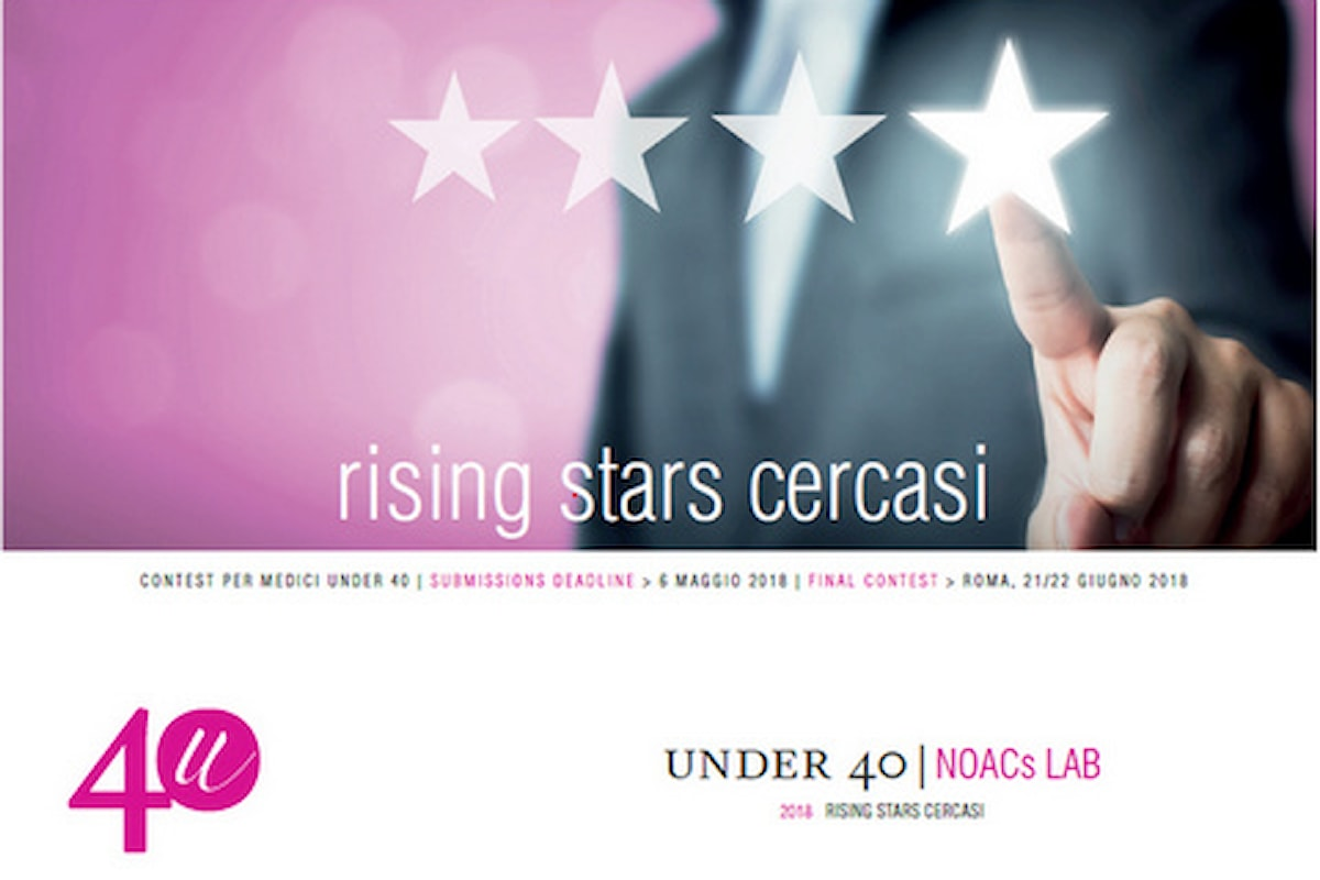 "Contest Ricerca scientifica, selezionate le ""Rising Stars"" italiane under 40"