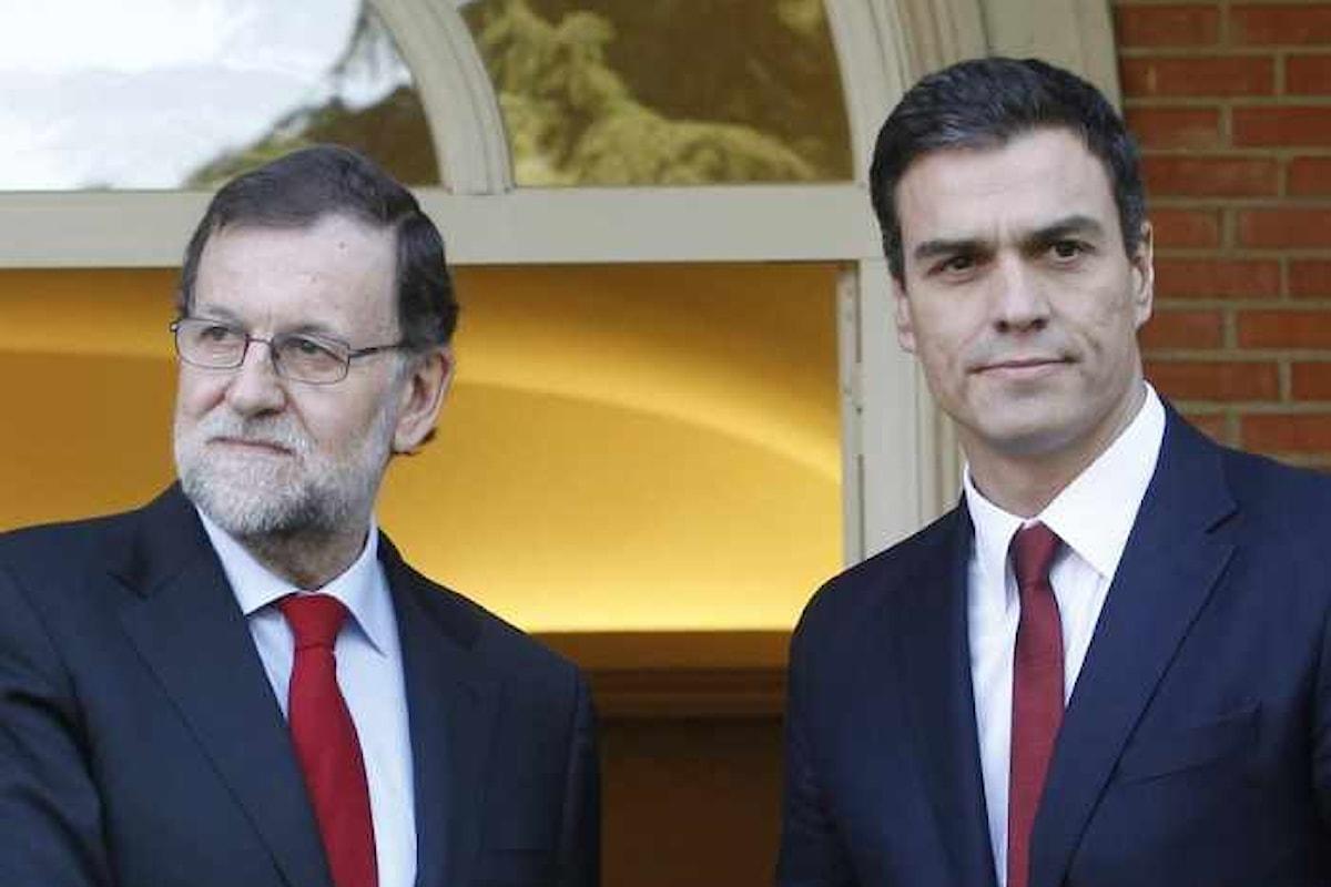 In Spagna, si discuterà tra giovedì e venerdì la sfiducia al governo Rajoy