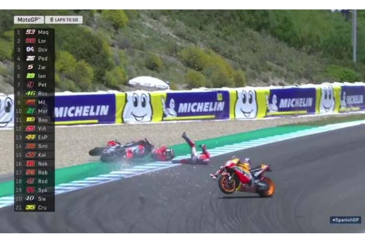 MotoGP 2018. Ad Jerez è ancora Marquez, disastro Ducati