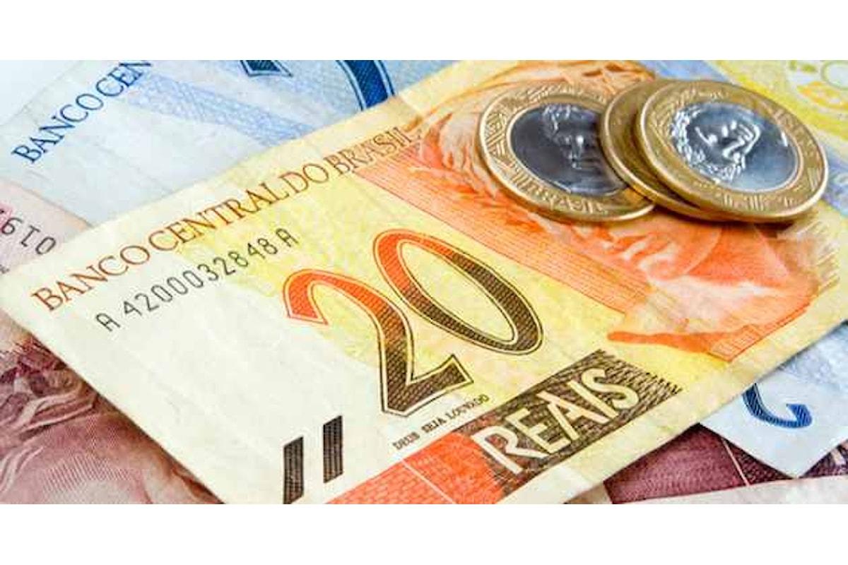 Valute: il cross Usd-Brl scende ancora. In un anno il Real ha guadagnato il 22%