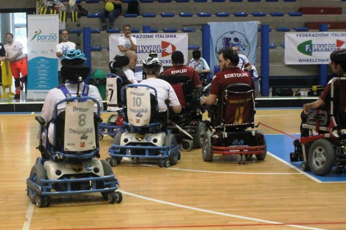 Wheelchair Hockey, finali nazionali aspettando i mondiali a Lignano nel Bella Italia & Efa Village