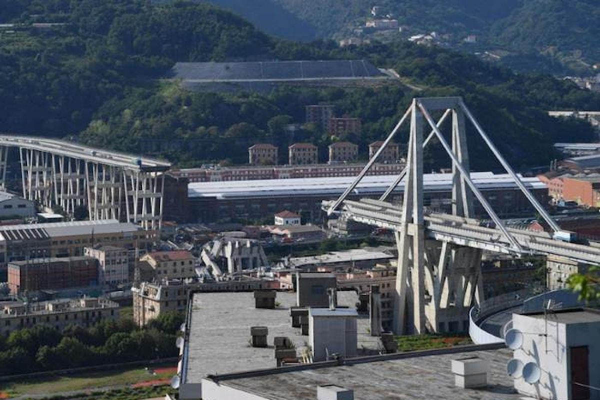 20 gli indagati per il crollo del Ponte Morandi, ma non si conoscono i nomi