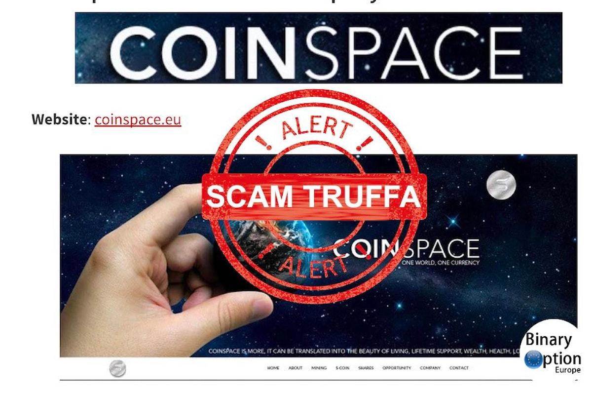 CoinSpace la pseudo criptovaluta che pare uno schema Ponzi