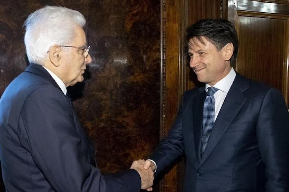 Il lunghissimo colloquio tra Mattarella ed il premier incaricato Giuseppe Conte
