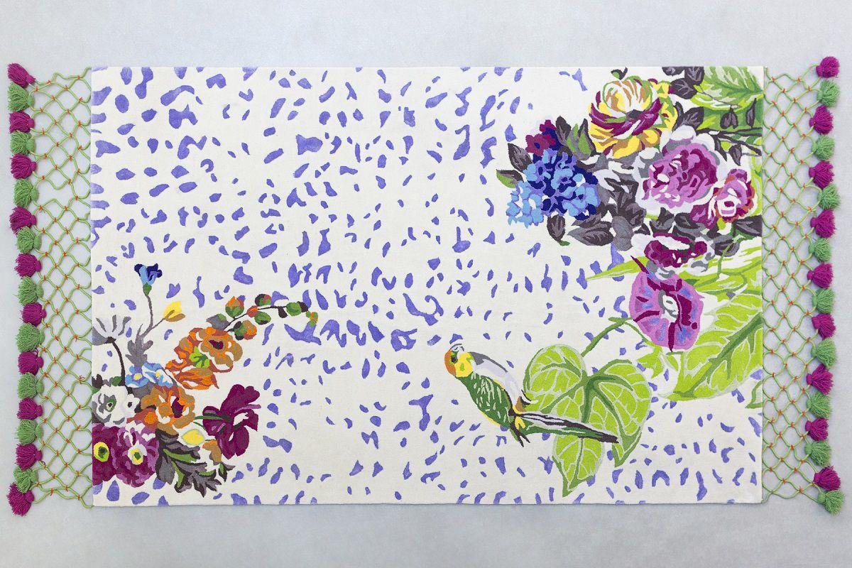 I colori dei Tropici nel nuovo tappeto Macao di Vito Nesta