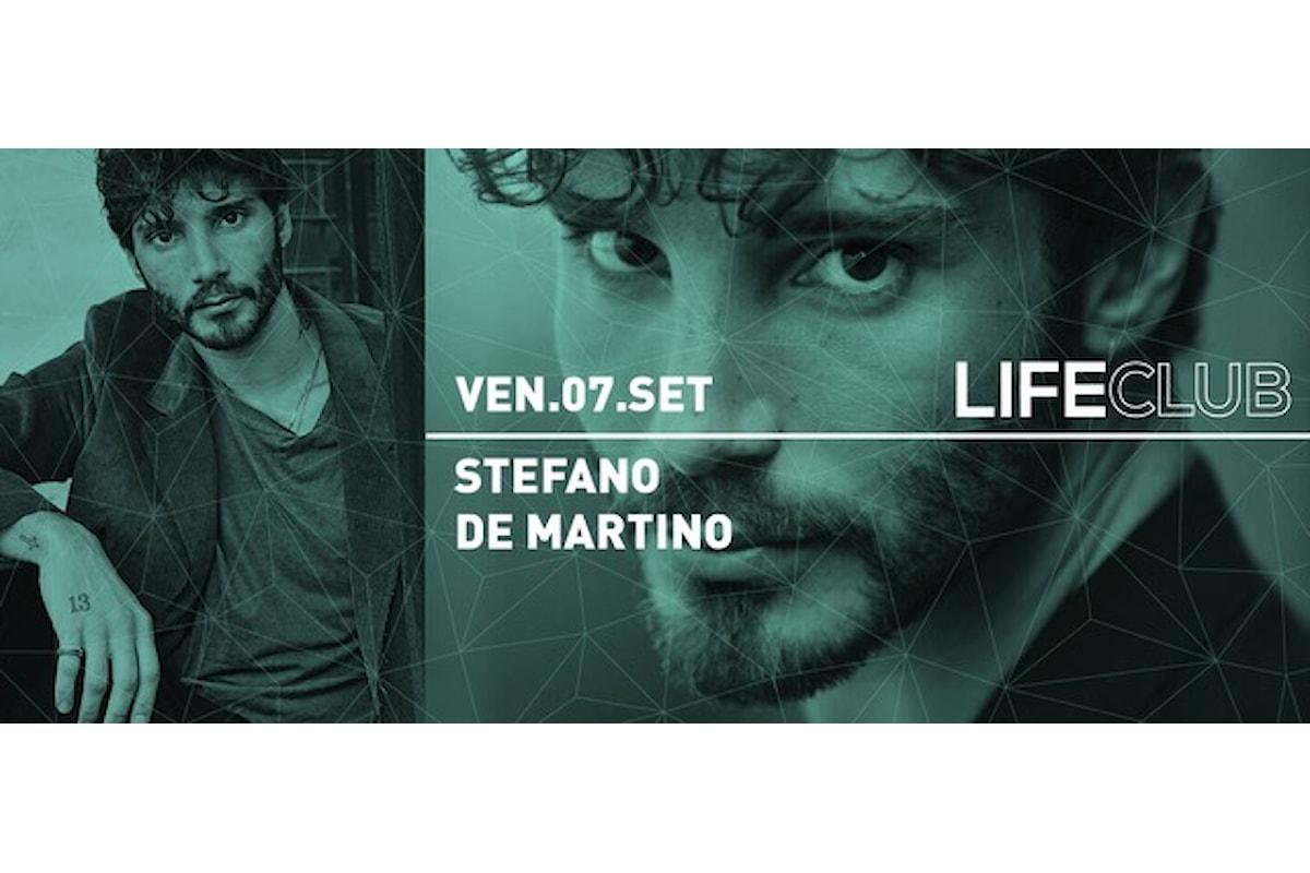 Stefano de Martino al Life Club di Rovetta (BG)