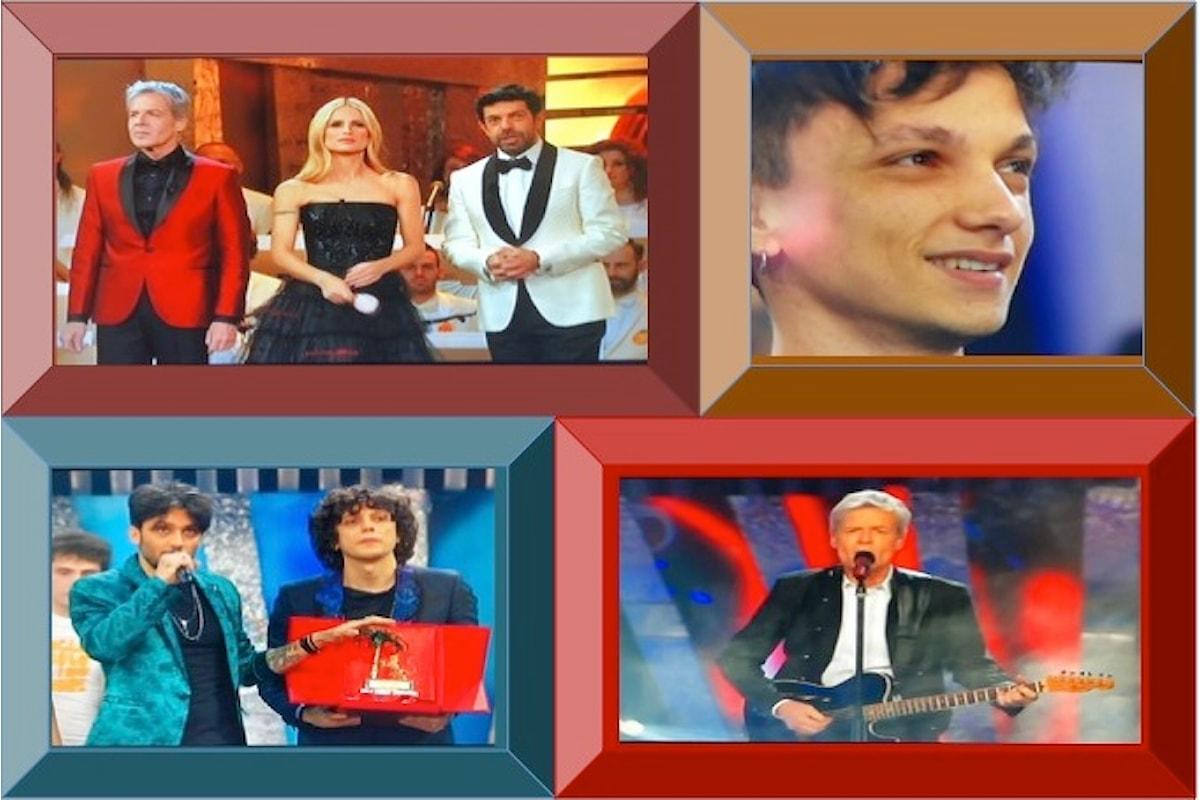 Claudio Baglioni innovativo: il Festival di Sanremo porta sul podio dei vincitori Ultimo, Ermal Meta e Francesco Moro