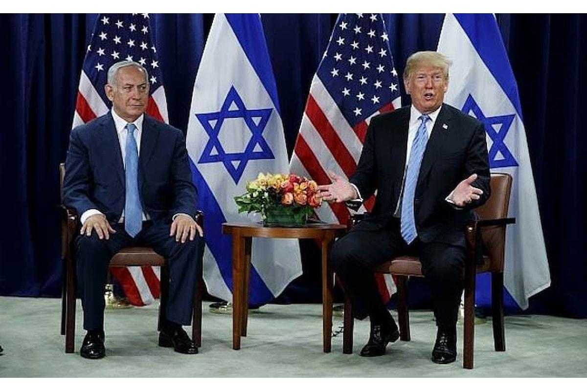 Medio oriente, Trump a New York adesso dice di essere favorevole ad una soluzione a due Stati
