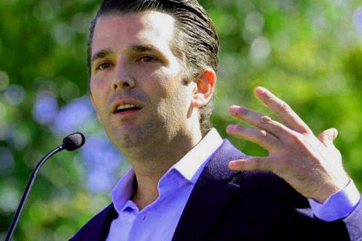 Trump Jr. sarebbe stato informato del tentativo della Russia di aiutare il padre a vincere le presidenziali Usa