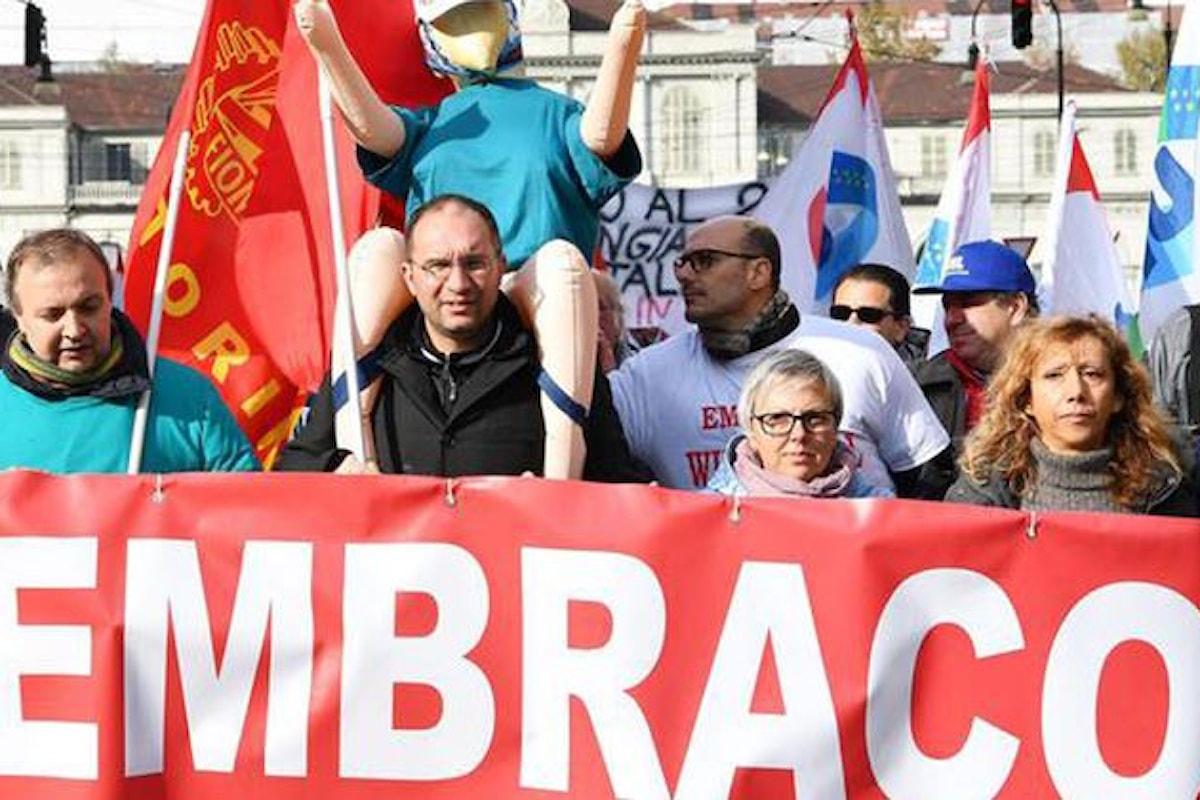 I lavoratori ex Embraco riassunti nello stabilimento di Riva di Chieri