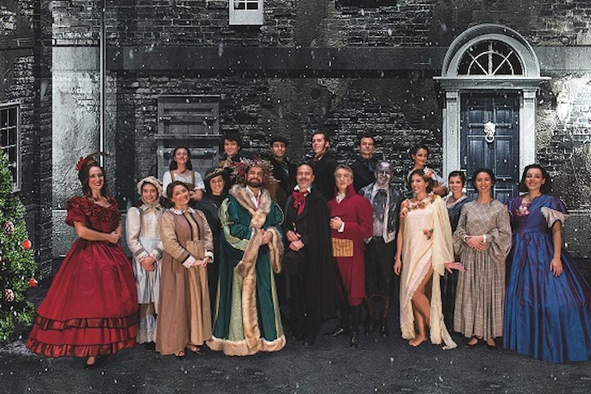 A CHRISTMAS CAROL, debutto nazionale al Teatro Nuovo Milano solo il 19, 20 e 21 novembre
