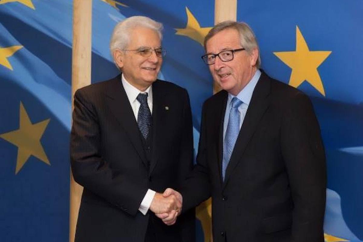 Il messaggio di Mattarella al forum Ambrosetti è un appello anche a Juncker per il suo prossimo discorso sullo stato dell'Unione