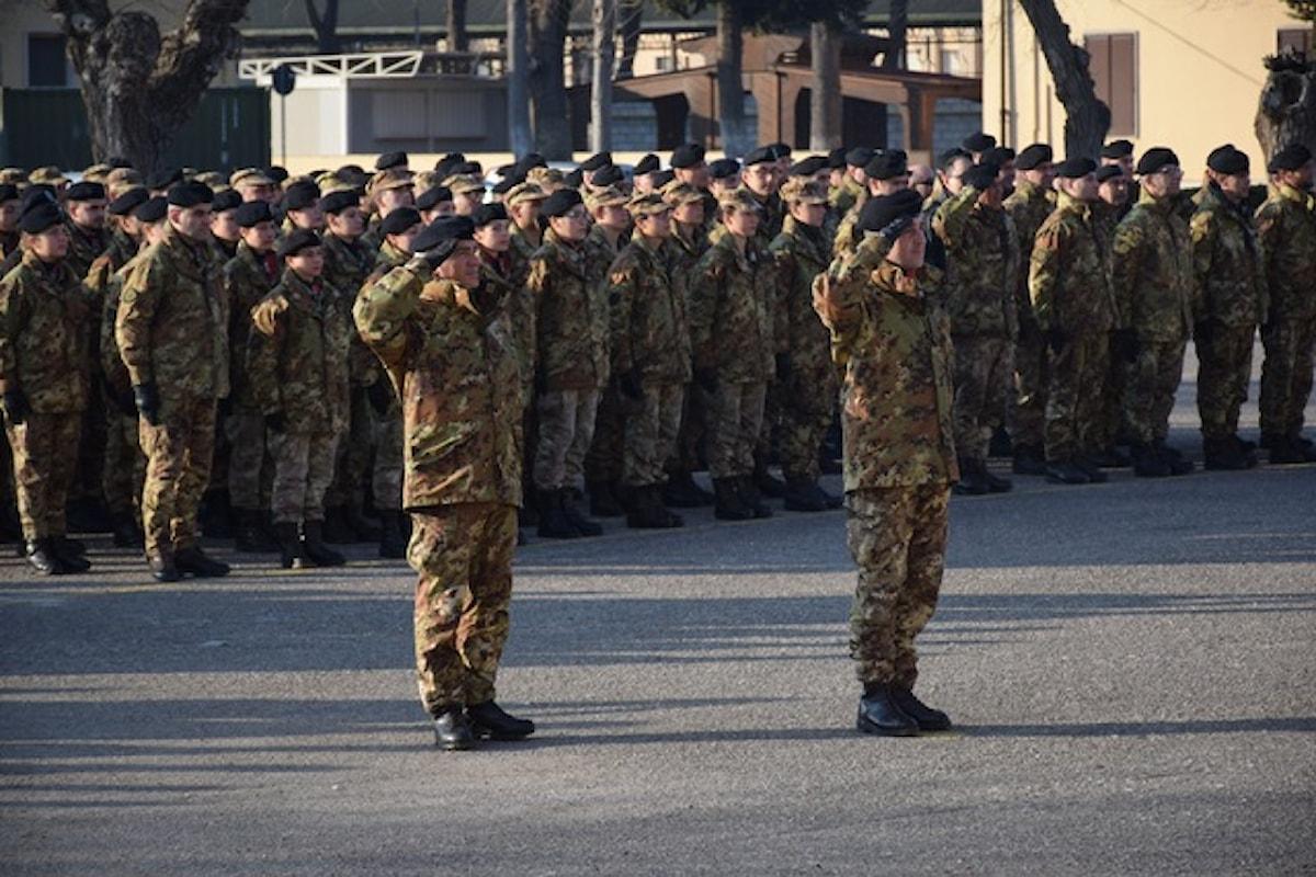 Sindaco di Teramo ai militari: Grazie per averci sostenuto in uno dei momenti più difficili della nostra esistenza