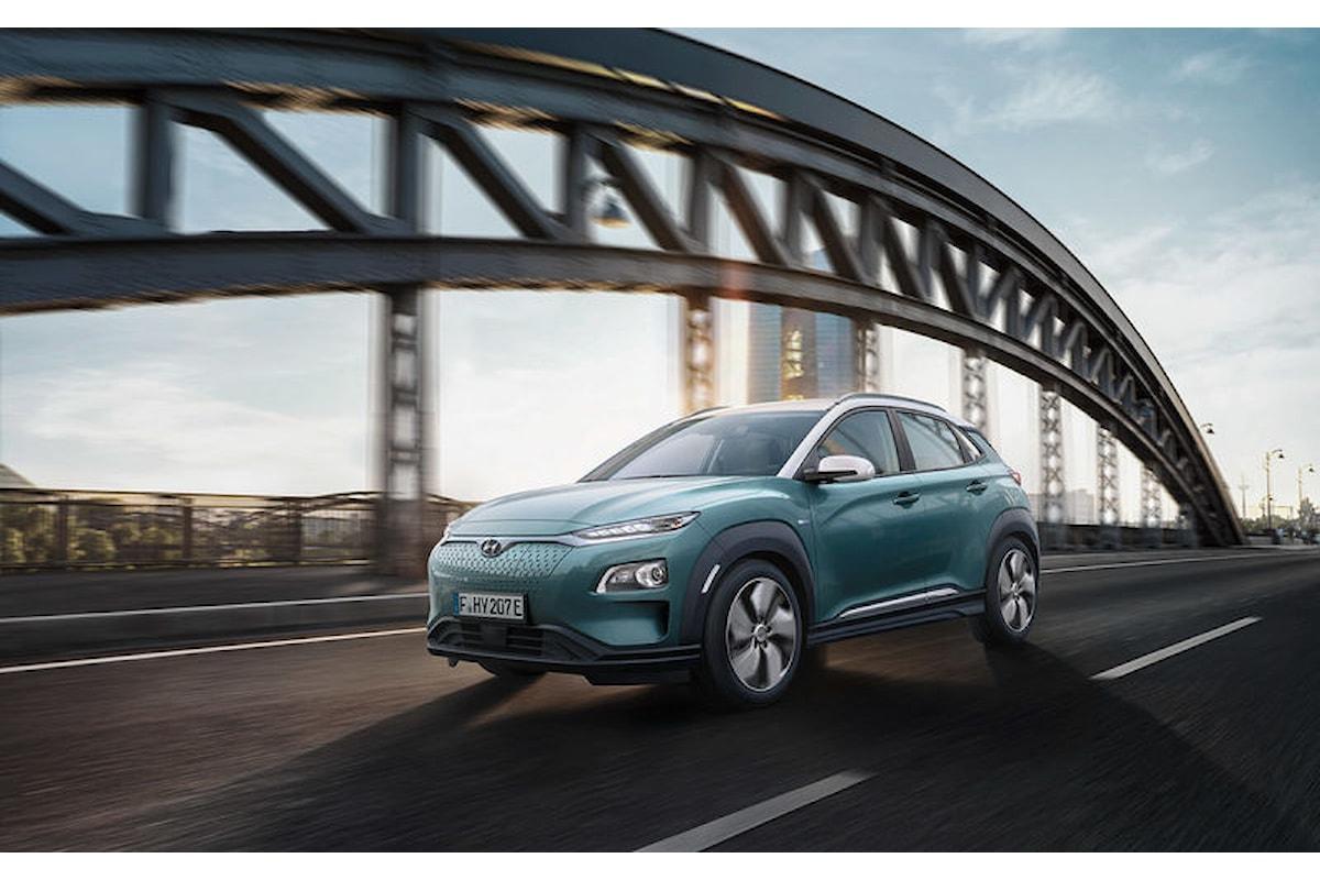 Hyundai Kona Electric: il primo SUV compatto totalmente elettrico