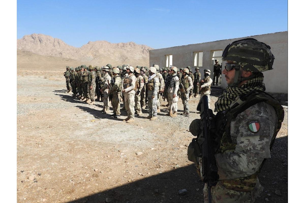Afghanistan, militari italiani addestrano le forze di sicurezza afgane per garantire sicurezza ai seggi elettorali