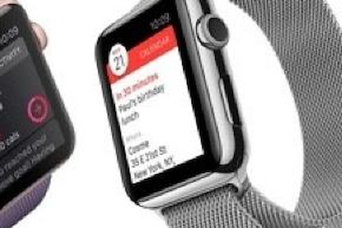 Apple Watch 2, ultime novità ad oggi 31 agosto in merito al lancio del dispositivo: quando arriverà?