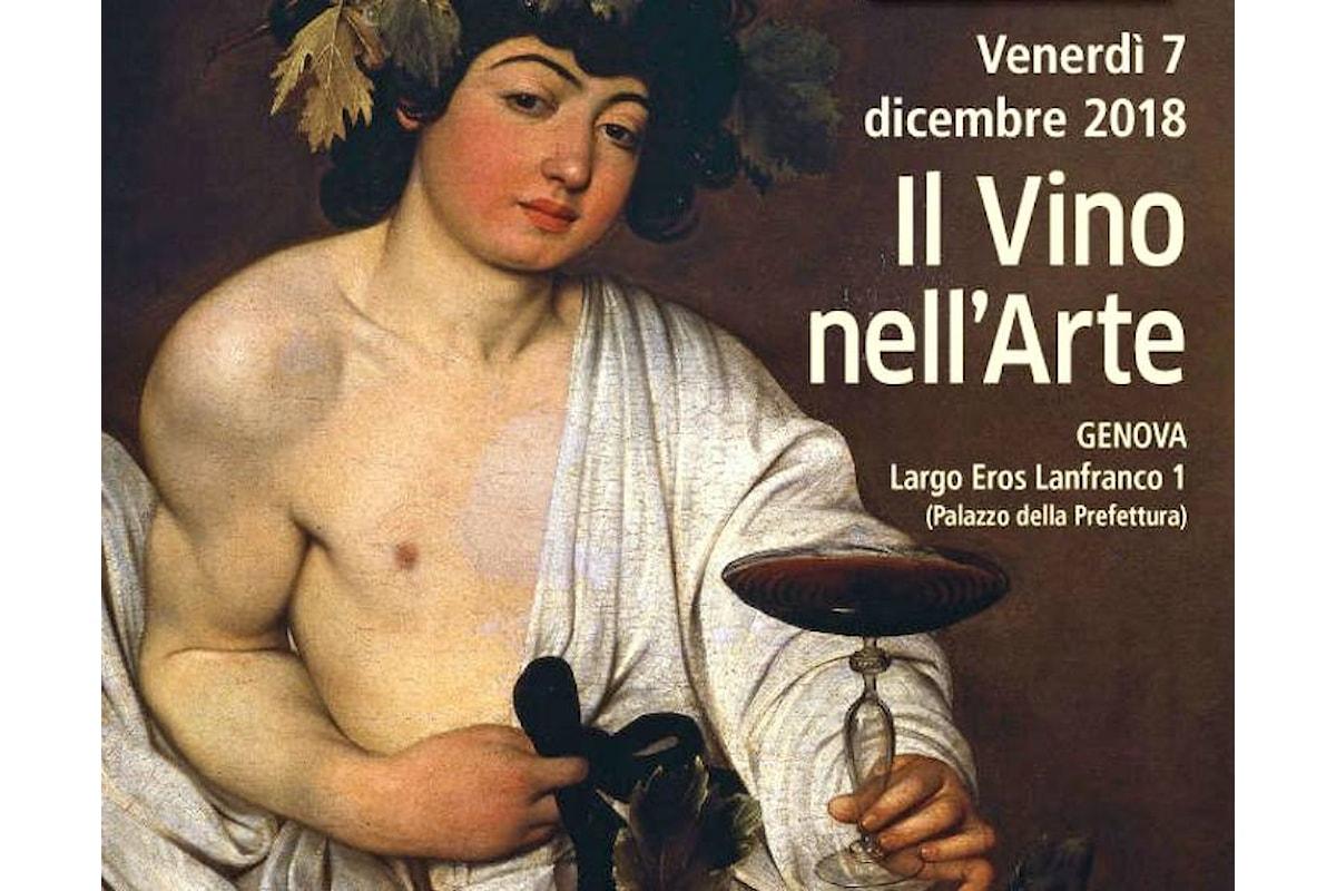 Il Vino nell'Arte chiude l'ottava edizione di Arte e Cultura a Palazzo Doria Spinola