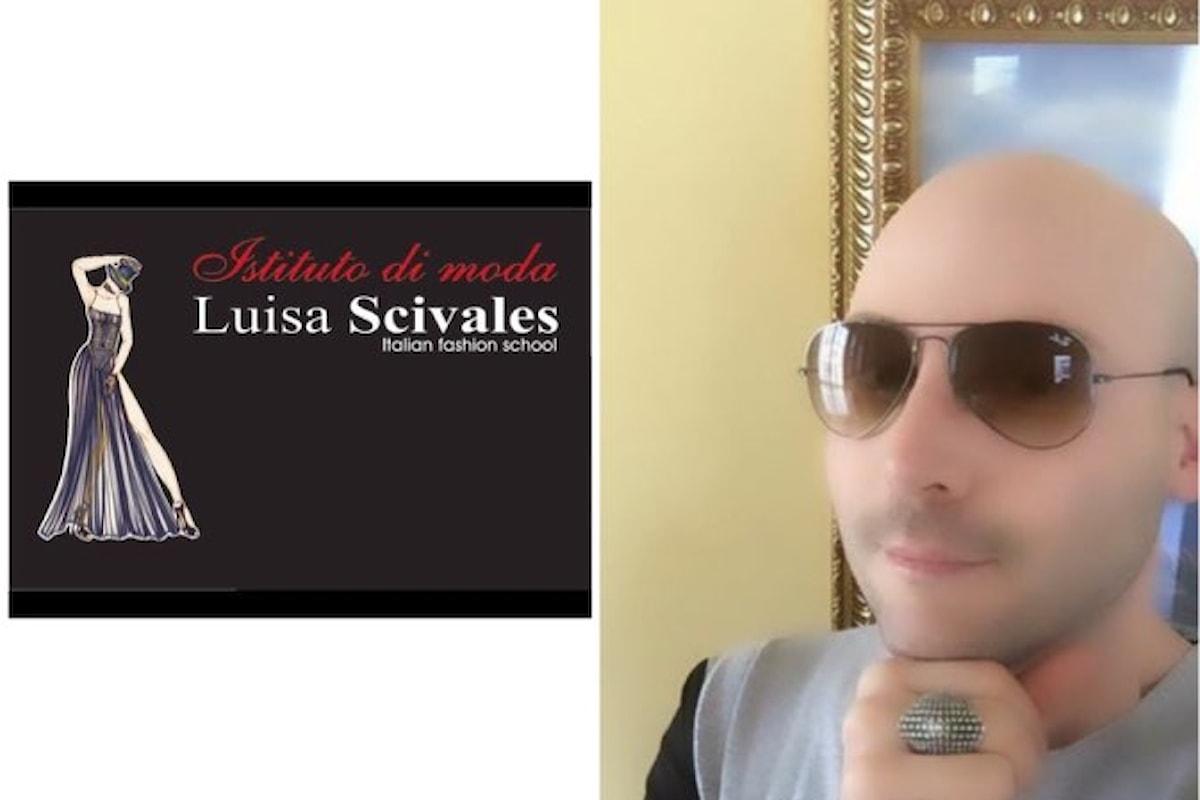 Andrea Ubbiali e il brand Luisa Scivales infiammano la page del blogger , le fans impazzite per la linea cartoon