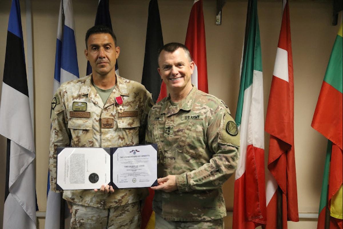 Iraq, onorificenza al Generale Vannacci Comandante Contingene Italiano per sconfitta ISIS