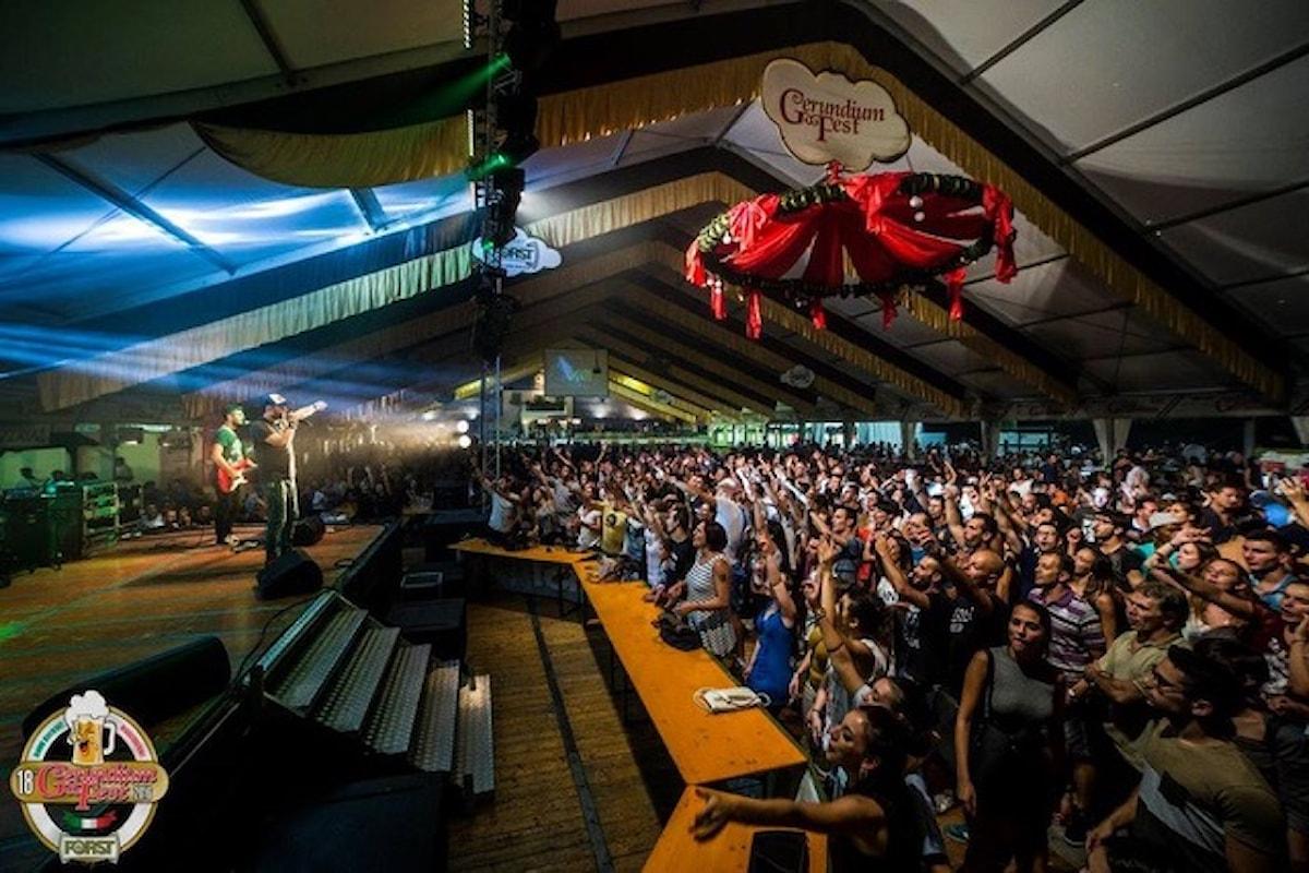 Gerundium Fest, dal 17 agosto al 16 settembre a Casirate D'Adda (BG): birre, cibo d'ogni tipo, musica dal vivo, area bimbi...