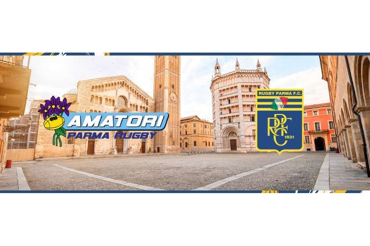 Il derby di Parma, sabato alla Cittadella del Rugby la presentazione