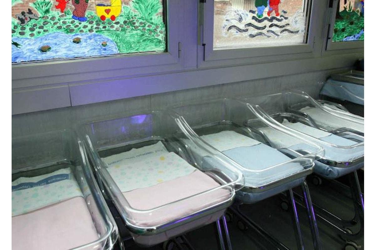 Denatalità, in Italia 4 milioni di bambini in meno rispetto al 1961