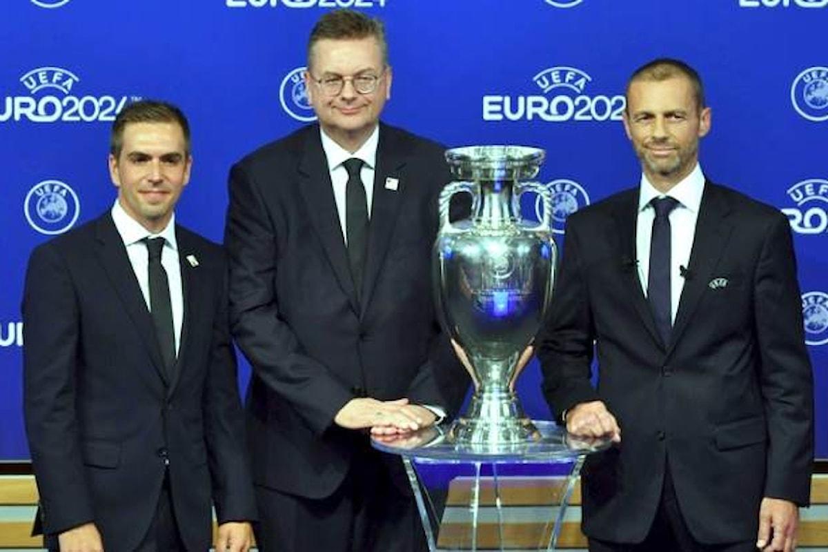 Sarà la Germania ad ospitare gli Europei di Calcio nel 2024