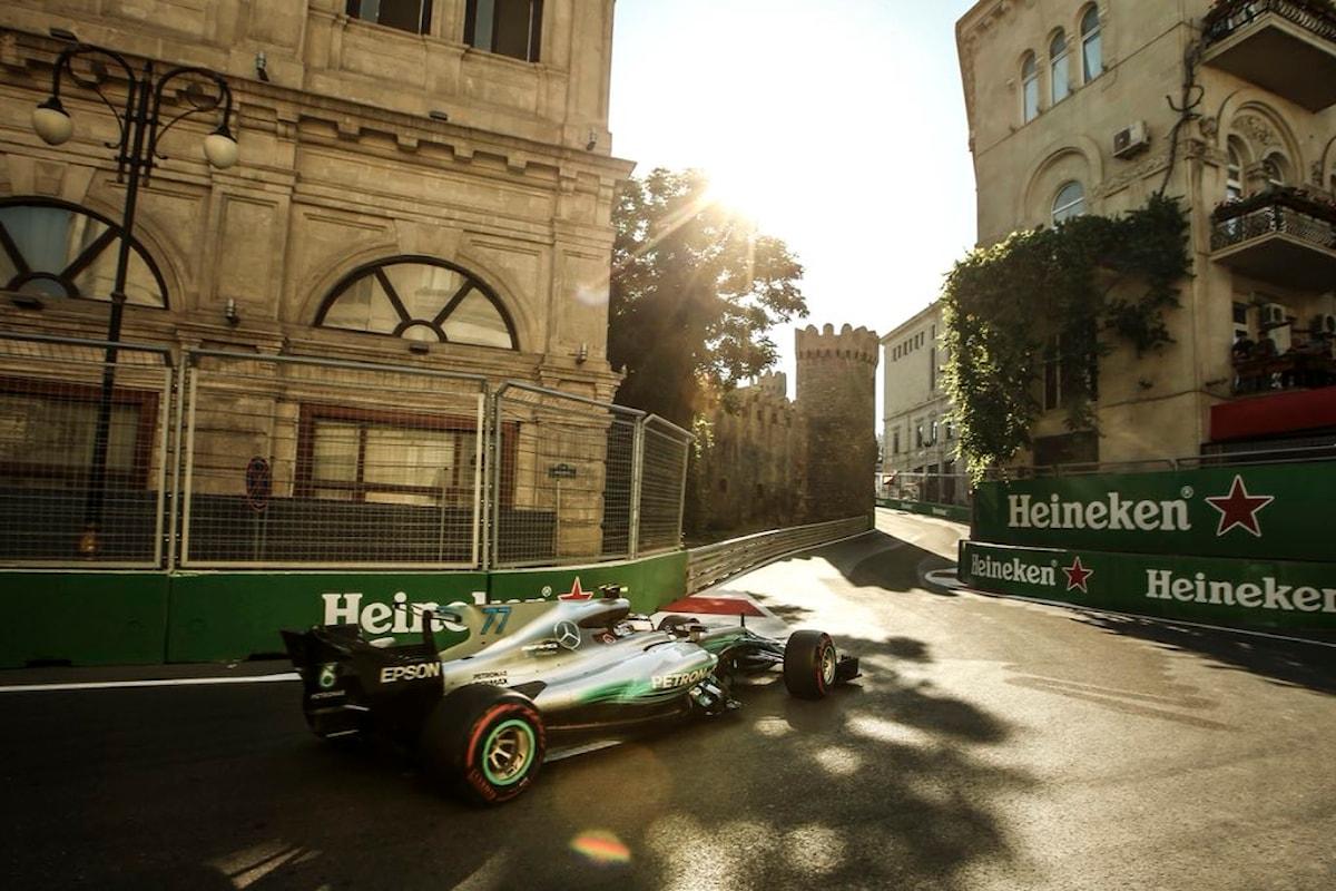 F1: come seguire il GP dell'Azerbaijan in TV