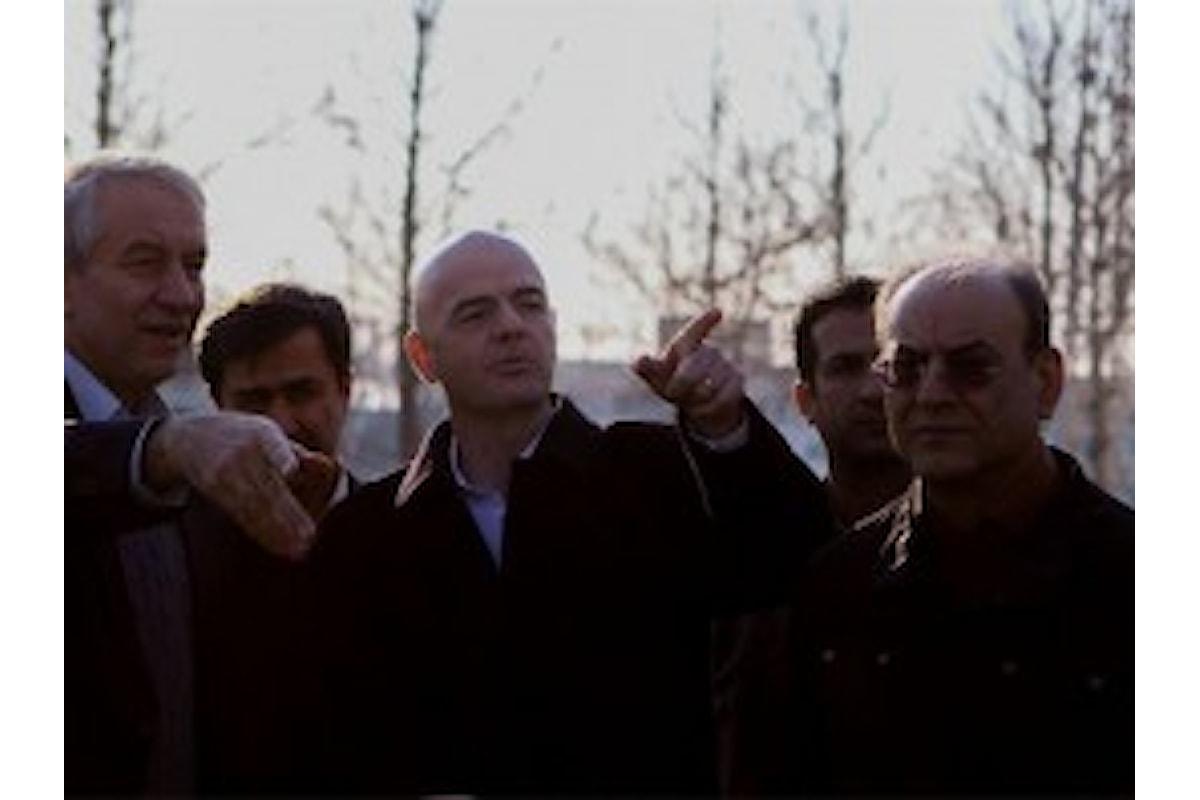 Gianni Infantino, reggino di nascità la Città orgogliosa del suo percorso professionale