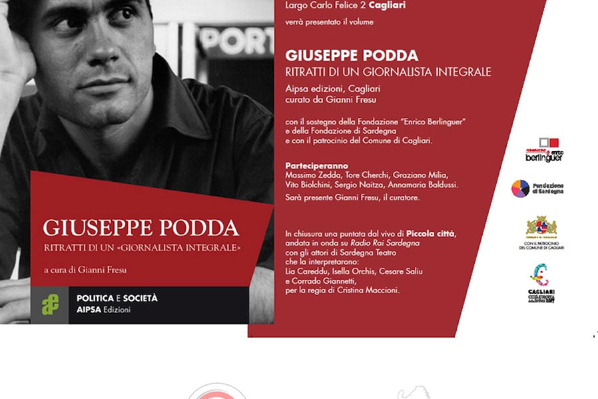 Nuovo libro su Giuseppe Podda, storico intellettuale sardo.