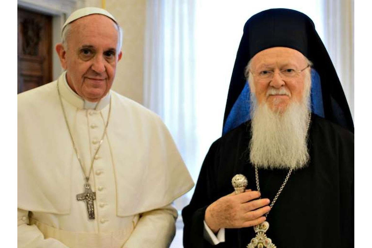 L'appello ecologista di Papa Francesco e del Patriarca Bartolomeo per uno sviluppo sostenibile in occasione della Giornata per il creato