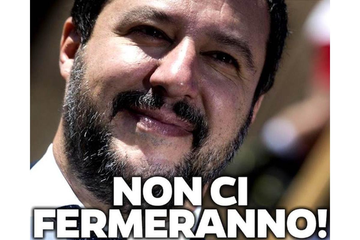 L'ira biblica dell'epico Salvini contro il sequestro dei soldi della Lega