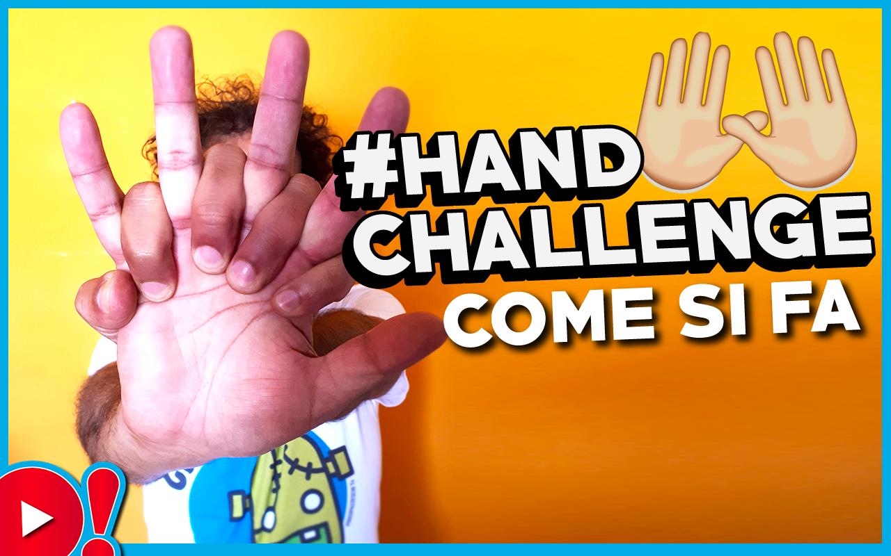 Hand Challenge: ecco cos'è la nuovissima challenge che fa impazzire i social (con tutorial per riuscirci)