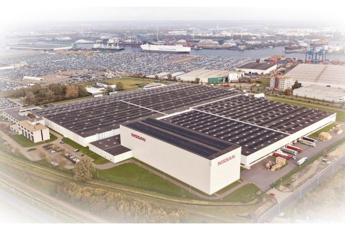 Nissan installa il più grande tetto solare condiviso dei Paesi Bassi in grado di alimentare fino a 900 abitazioni