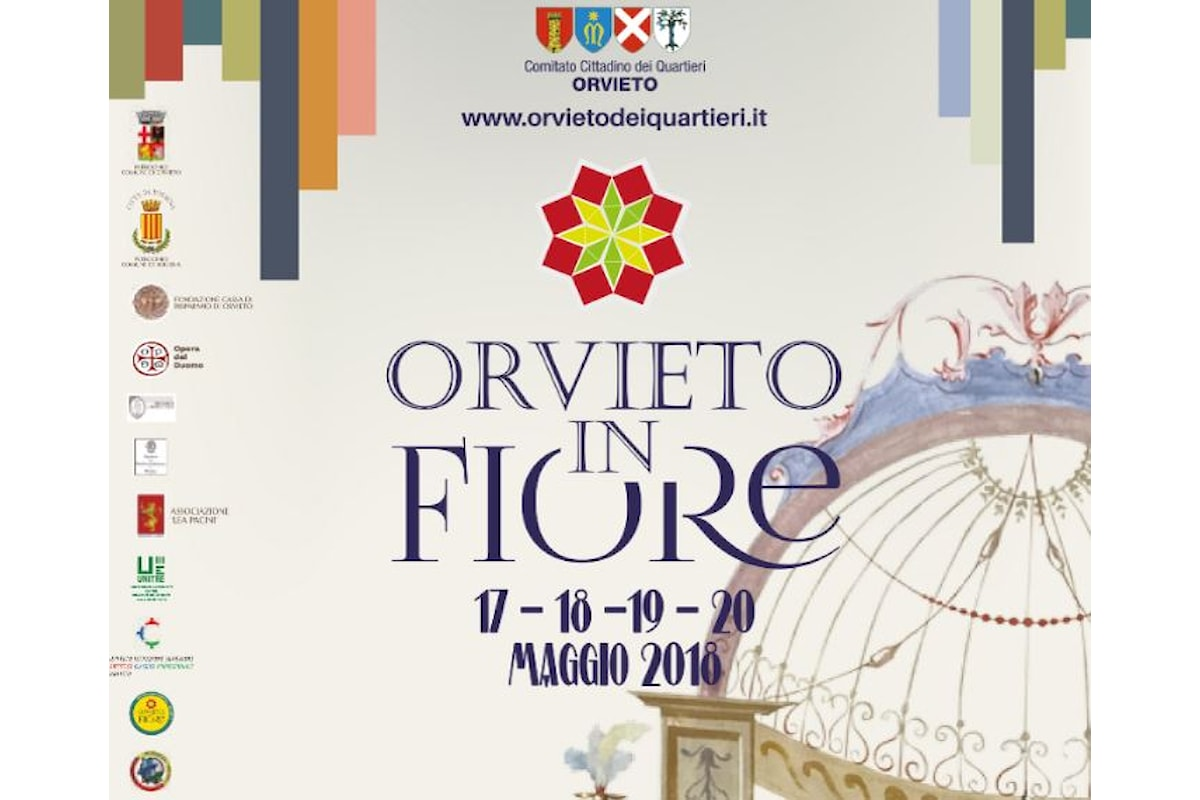 """Terza edizione per """"L'Aperitivo Floreale Street Food"""" a Orvieto"""