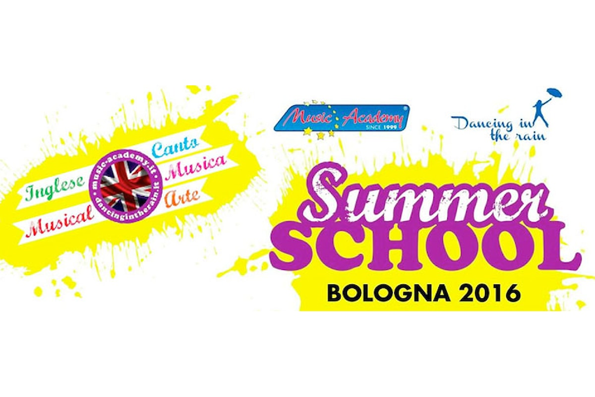 "TORNA LA ""SUMMER SCHOOL"" DI MUSIC ACADEMY"