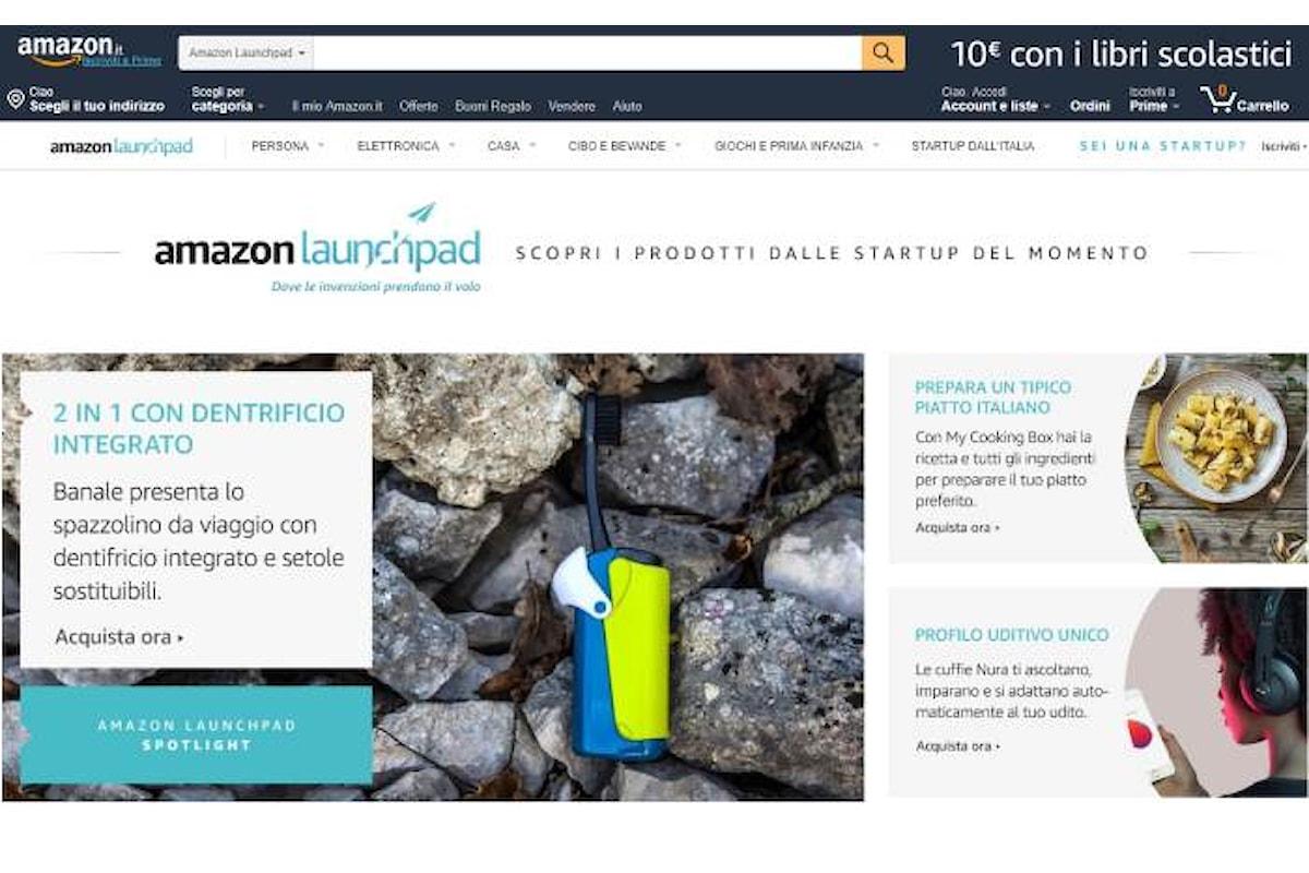 Al via Amazon Launchpad per dare la possibilità alle startup di offrire i loro prodotti ai clienti Amazon in tutto il mondo