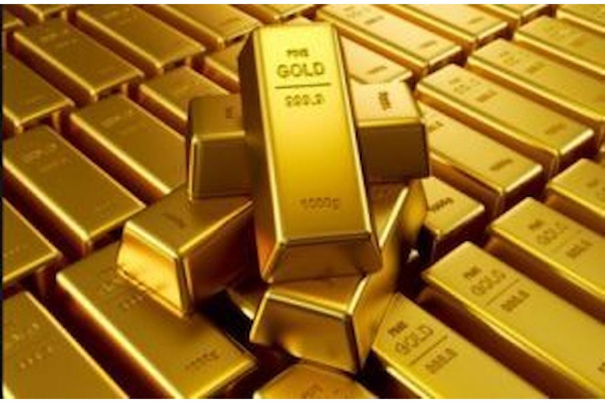 Mercati, l'oro vola verso i 1350 dollari l'oncia