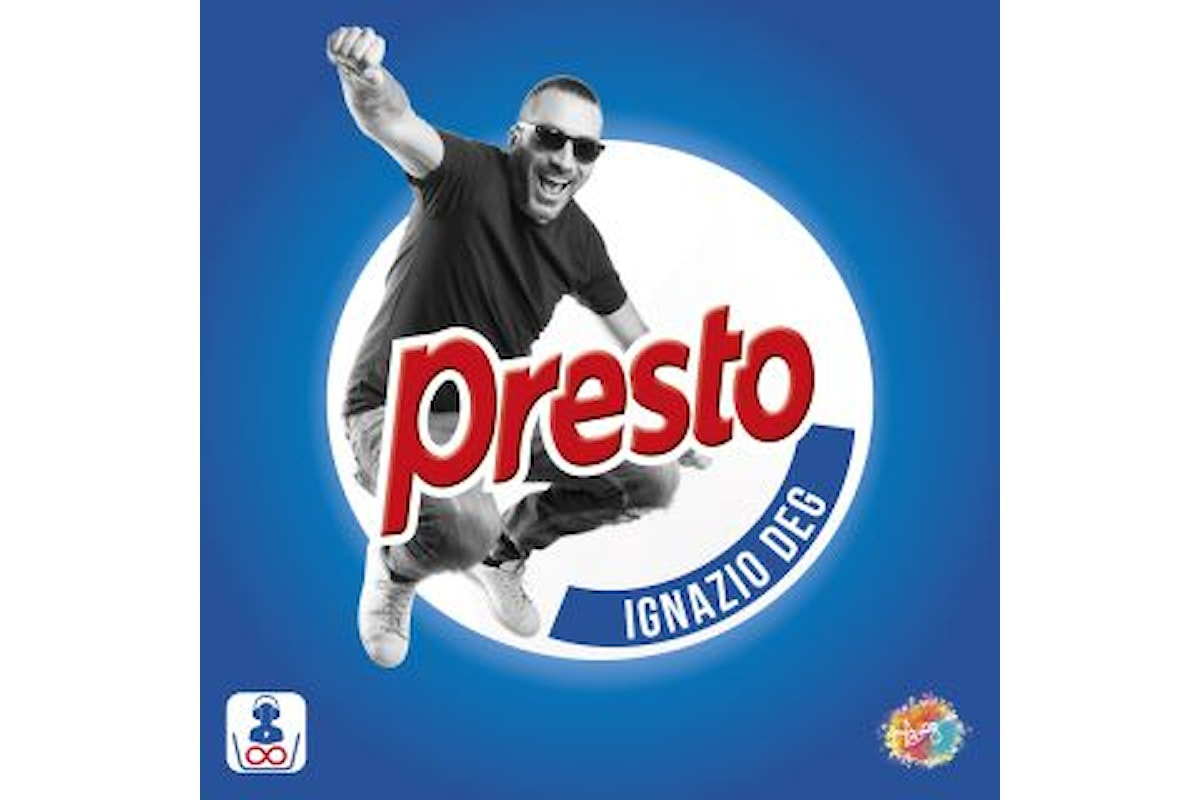 """Ignazio Deg: """"PRESTO"""" è il singolo del cantante pugliese in uscita il primo giugno"""