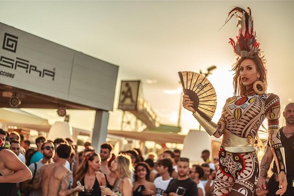 Samsara Beach - Riccione: beach party scatenati Pasqua e Pasquetta 2018 e un tour che non si ferma mai
