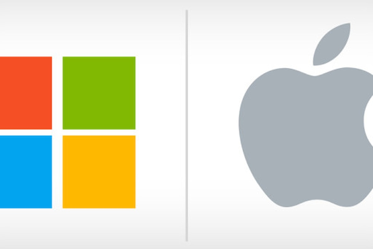 Microsoft e Apple in testa alla classifica: scopri quale | Surface Phone Italia
