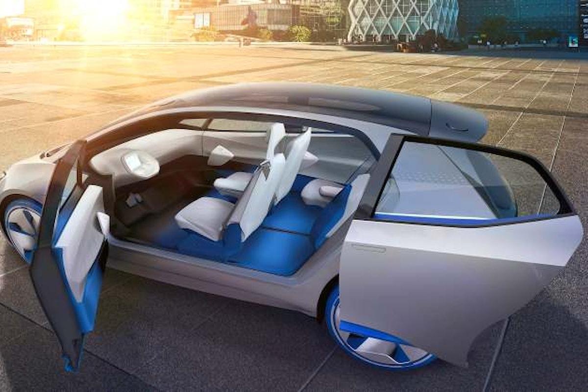 In un filmato, Volkswagen presenta I.D., la sua auto del futuro